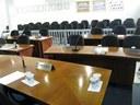 Mesa dos parlamentares