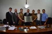 2º CIA do 22º Batalhão da Polícia Militar recebe Moção de Congratulação