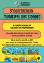 Almirante Tamandaré prepara 6ª Conferência Municipal das Cidades