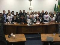 PROGRAMA MUNICIPAL DE COMBATE À VIOLÊNCIA CONTRA A MULHER FOI TEMA DE AUDIÊNCIA PÚBLICA NA SEGUNDA-FEIRA.