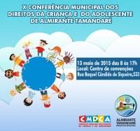 Conferência vai discutir direitos da Criança e do Adolescente em Almirante Tamandaré
